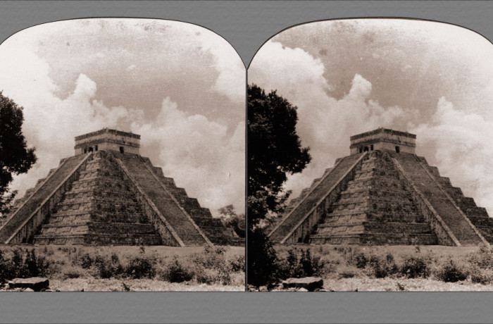 Restored El Castillo – The Temple