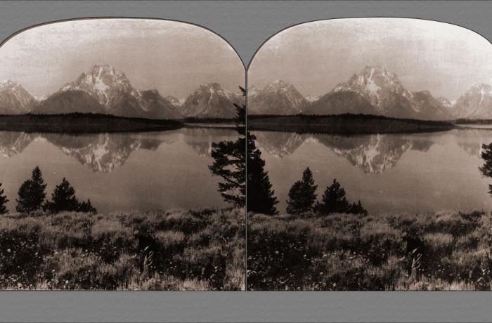The Teton Mountains Across Jackson Lake
