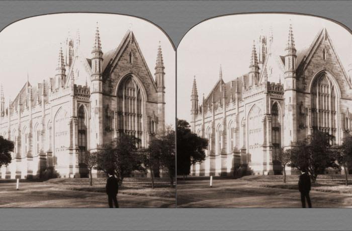 Beautiful Gothic Examination Hall