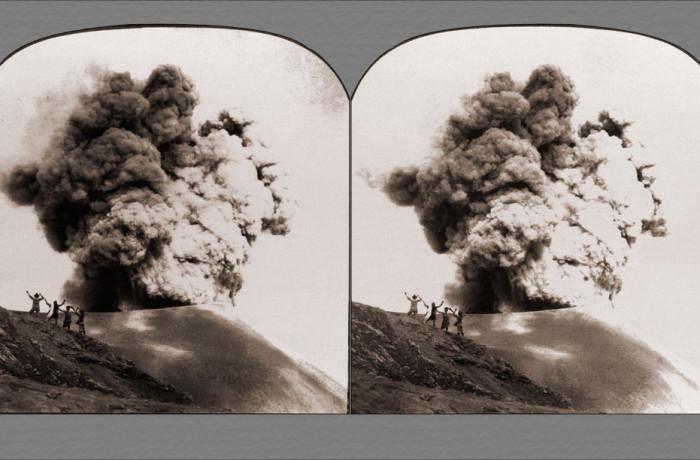 Impressive Volcanic Eruption